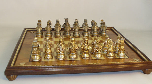 Camelot Themed Pewter Set - ChessWarehouse - 1