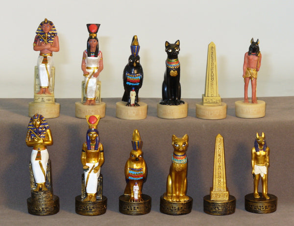 Egyptian Chessmen - ChessWarehouse - 1