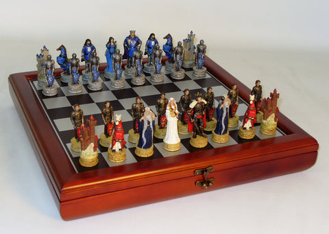 King Arthur Chest Set - ChessWarehouse - 1