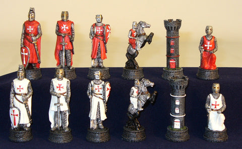 Crusades Chessmen - ChessWarehouse - 1