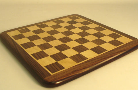 "15"" Rosewood & Maple Thick Veneer Board - ChessWarehouse"
