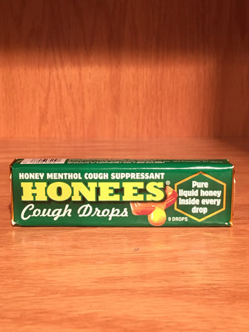 Honees Menthol Eucalyptus Cough Drops