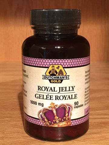 Royal Jelly Capsules 1000mg, 90ct