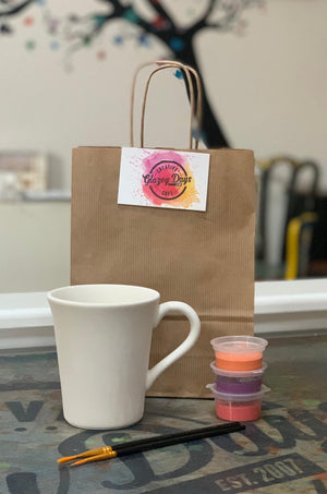 Straight Cape Mug- Paint at home kit