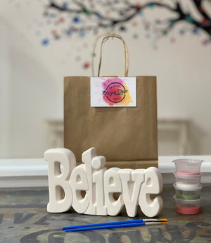 Believe- Paint at home kit