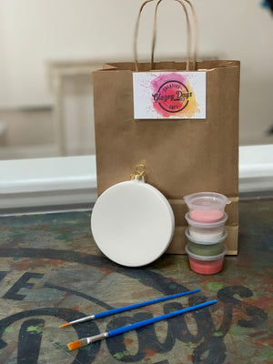 Round Ornaprint - Paint at home kit