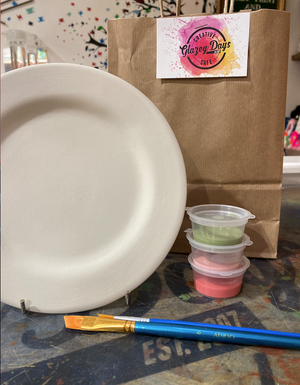 Small plate- Paint at Home Kit