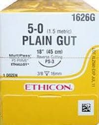 PLAIN GUT Ethicon (absorbable) sutures