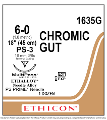 CHROMIC GUT Ethicon (absorbable) sutures