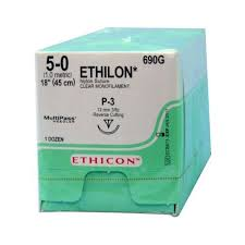 ETHILON Ethicon nylon (non-absorbable) sutures