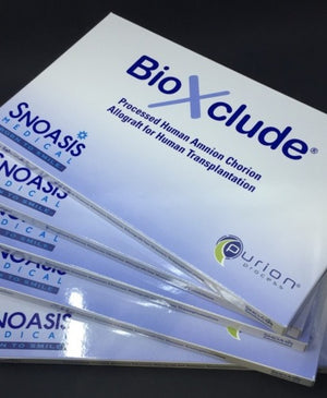 BioXclude® amnion-chorion allograft (membrane + growth factor)