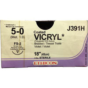 VICRYL Ethicon (absorbable) sutures