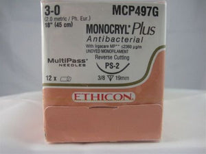 MONOCRYL PLUS Ethicon (absorbable) sutures