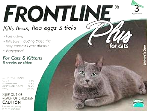 Frontline Plus for Cat 3 pack