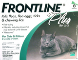 Frontline Plus for Cat 6 pack