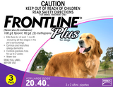 Frontline Plus for Large Dog 3 pack