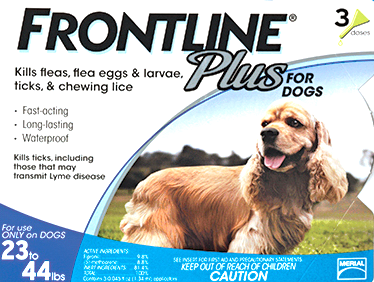 Frontline Plus for Medium Dog 3 pack