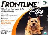 Frontline Plus for Small Dog 3 pack
