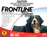 Frontline Plus for Extra-Large Dog 6 pack