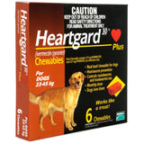 Heartgard Plus Chewables for Large Dog 6 pack