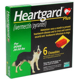 Heartgard Plus Chewables for Medium Dog 6 pack