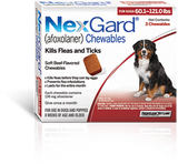 NexGard Chewables for Extra-Large Dog 3 pack