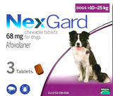 NexGard Chewables for Large Dog 3 pack