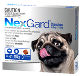 NexGard Chewables for Medium Dog 3 pack