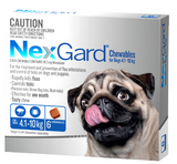NexGard Chewables for Medium Dog 6 pack