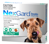 NexGard Chewables for Large Dog 6 pack