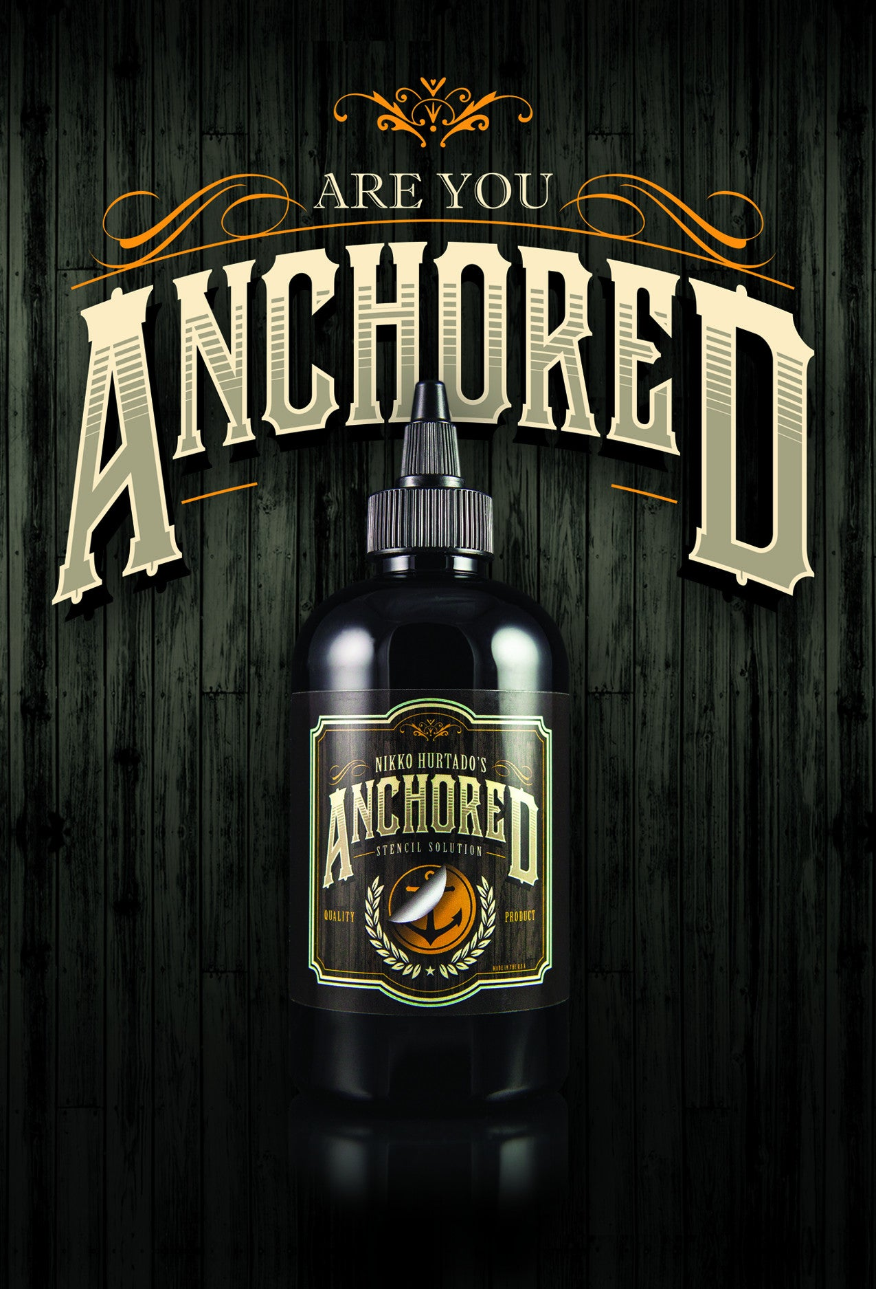 Anchored Stencil Solution (Single Bottle)