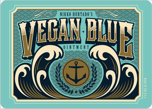 Vegan Blue Tattoo Cream (Single Jar)