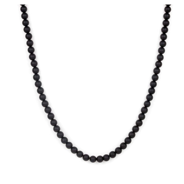 ZENGER Necklace Matte Onyx Washington