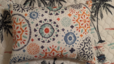 Talavera Twisted Palms Pillow