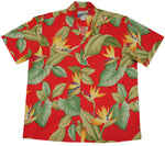Men's Airbrush Birds of Paradise Hawaiian Shirt - Twisted Palms Trading Company Online Beach Shop