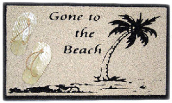 "Sand Signs ""Gone to the Beach"""