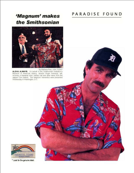 Magnum PI Smithsonian - Twisted Palms Trading Co.