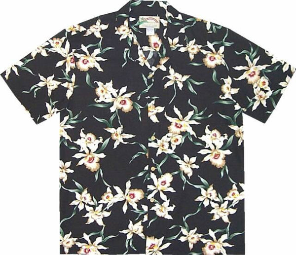 Star Orchid Magnum PI Rayon Shirt 2 - Twisted Palms Trading Co.