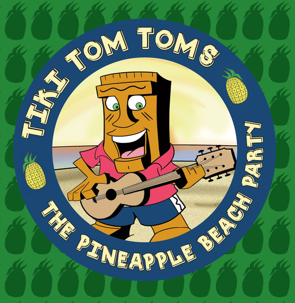 Twisted Palms Song - Tiki Tom Toms: The Pineapple Beach Party Logo