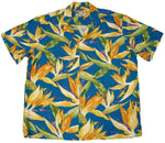Men's Watercolor Birds of Paradise Hawaiian Shirt - Twisted Palms Trading Company Online Beach Shop