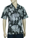 Aloha Shirt Pacific Honu - Twisted Palms Trading Co. Tiki Decor & Island Style Apparel