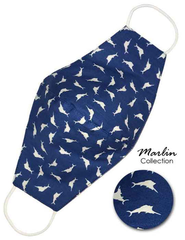 Marlin Collection Fashion Face Mask