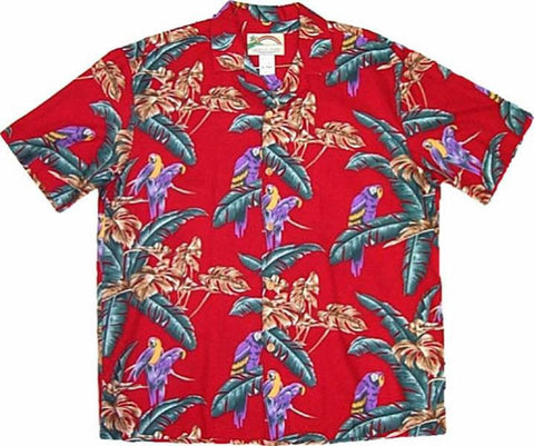 Jungle Bird Magnum PI Red Pic 2 - Twisted Palms Trading Co.