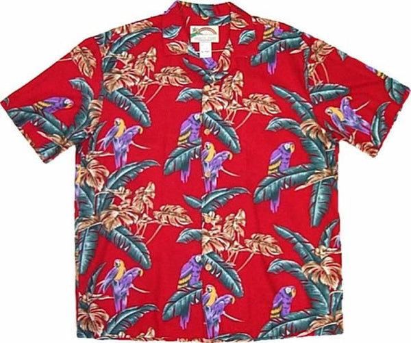 Jungle Bird Magnum PI Red Pic 2 for Women - Twisted Palms Trading Co.