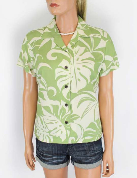 Makena Hawaiian Shirts for Women in Rayon