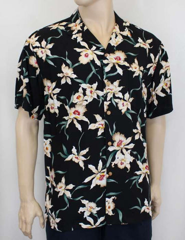 Star Orchid Magnum PI Rayon Shirt for Women - Twisted Palms Trading Co.