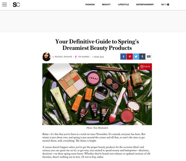 STYLECASTER - Your Definitive Guide to Spring's Dreamiest Beauty Products