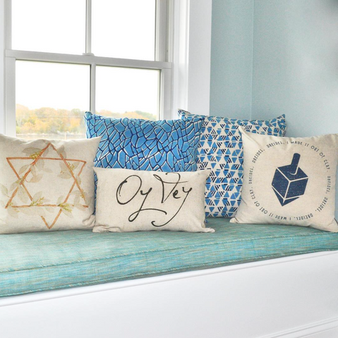 Decorative Pillows for Hanukkah