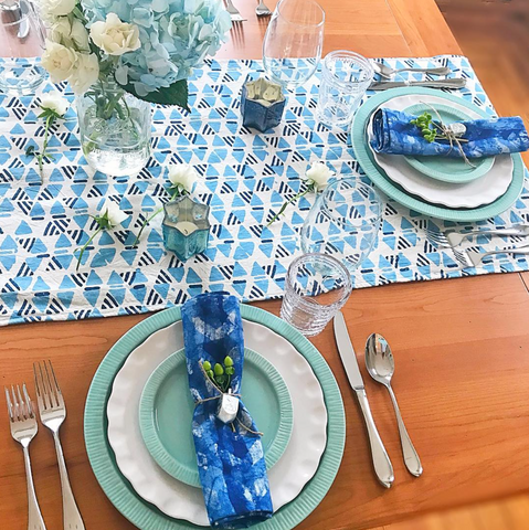 Hanukkah Table Setting Ideas