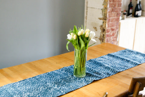 Boho home decor table runner